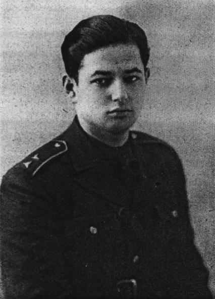 Richard Hapala v uniformě RAF.